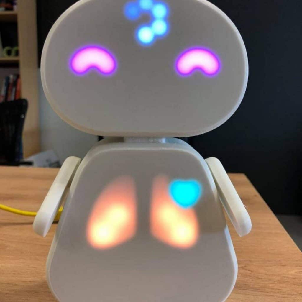 Echo is a tangible avatar that will mirror physiological and cognitive states provided by several sensors.